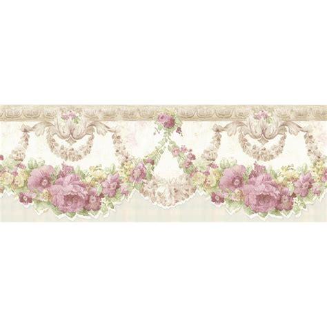 Wallborder Wallpaper List Kode 1022 mirage marianne mauve floral bough wallpaper border 992b07570 the home depot