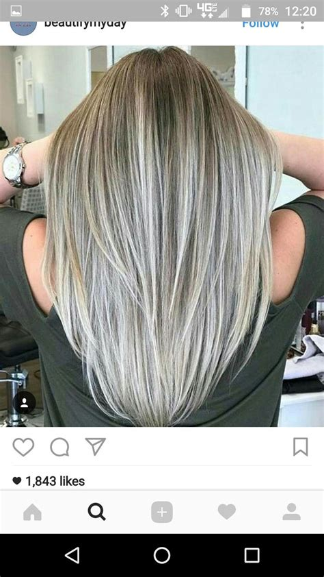 how to put gray highlights in your hair 230 best hair and beauty grey hair gray hair silver