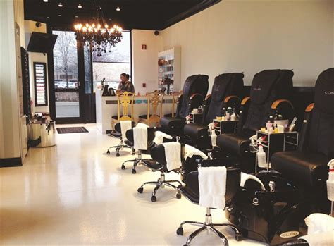 Hair Manicure Di Salon on the road hush nail boutique business nails magazine