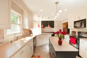Galley Kitchen Ideas Pictures Small White Galley Kitchen Designs House Design And
