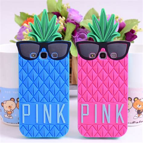 Samsung Galaxy A5 3d Hunny Winnie Soft Silicone 3d glasses pineapple silicone soft rubber cover for samsung galaxy s3 s4 ebay