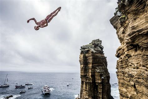 bull cliff dive bull cliff diving world series azores 2016 report