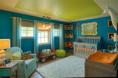 Charming Church Nursery Cribs #7: Ceiling-green-color-bloque.jpg