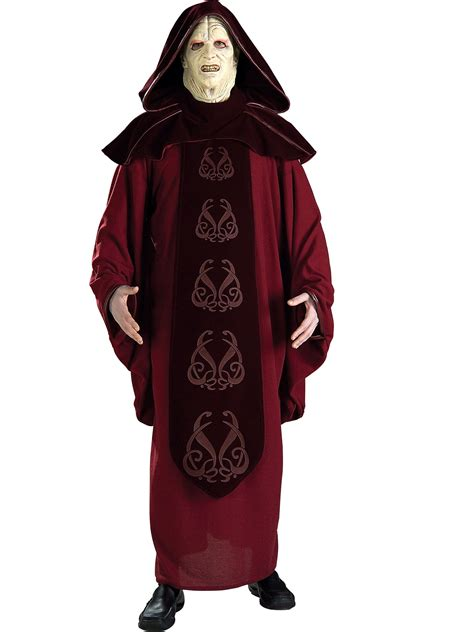 wars supreme costumes wars supreme edition emperor palpatine costume