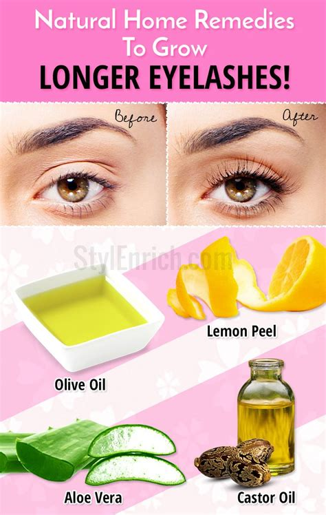 how to grow longer eyelashes naturally using effective