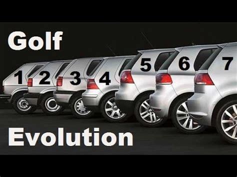 Golf Auto Evolution by Vw Golf Evolution 1974 2018