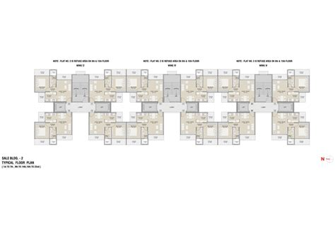 typical floor plan ruparel optima kandivali west mumbai maharashtra details