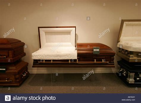 open casket at funeral home stock photo royalty free
