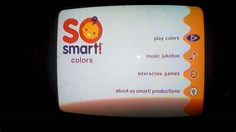 colors dvd so smart colors dvd menu