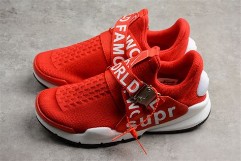 supreme shoes new nike sock dart x supreme white men s and women s