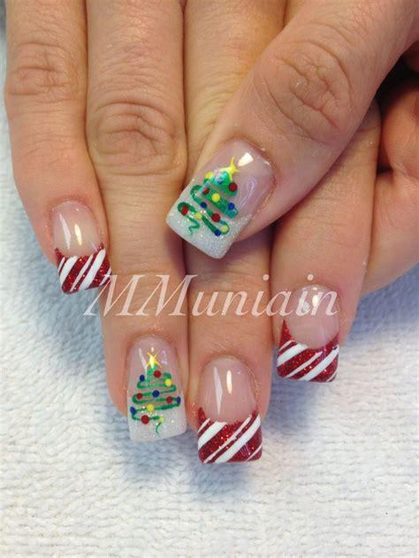 imagenes de uñas decoradas 2015 de navidad u 241 as decoradas 193 rbol de navidad paso a paso ε dise 241 os