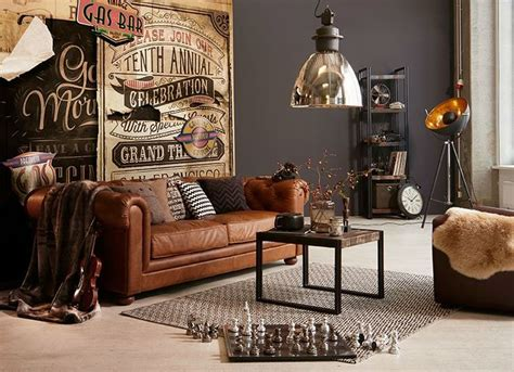 Wohnzimmer Vintage Einrichten by 17 Best Ideas About Industrial Living Rooms On