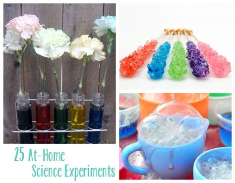 25 at home science experiments