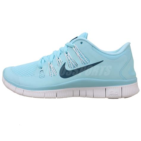 nike barefoot shoes nike wmns free 5 0 blue white 2014 womens running shoes