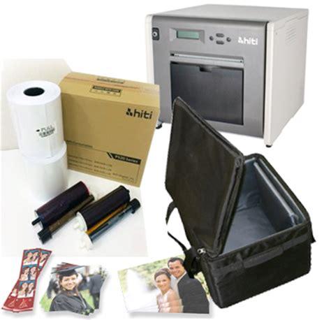 Hiti P525l Photobooth hiti p525l dye sub photo printer soft printer carrying 4x6 ribbon paper 1000