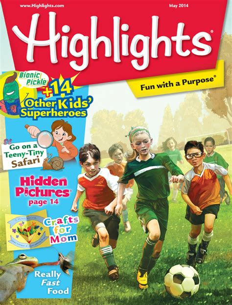 magazine discount highlights for children cover