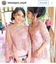 Real Pict Batik Kebaya Modern Etp Grey persica lace dress the shoulder would to be for