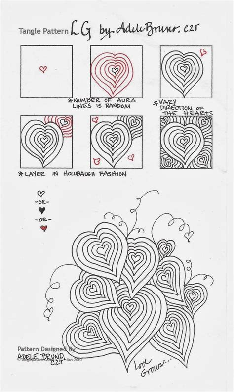 tangle pattern doodle 460 best zentangle patterns images on pinterest tangle