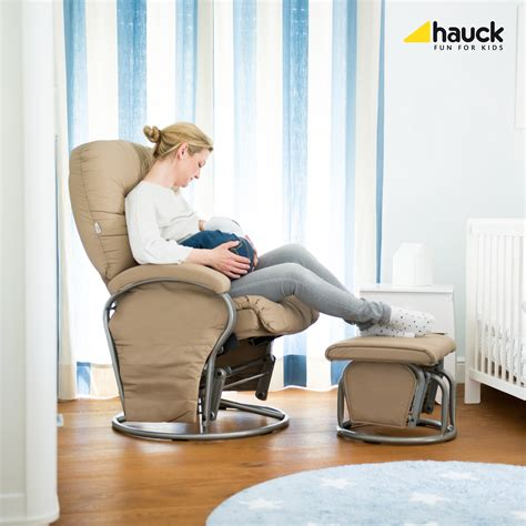 reclined nursing hauck nursing and relaxing chair metal glider recline