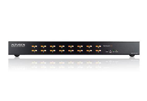console server 16 port serial console server sn0116 aten serial