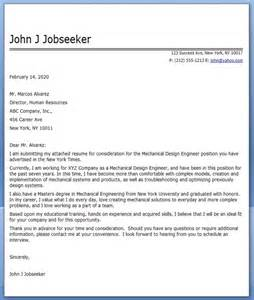 Environmental Designer Cover Letter by Cover Letter Mechanical Designer Sle Resume Downloads
