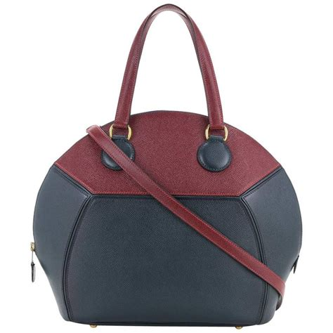 New Fashion Arianna Togo Leather 2in1 8805vl hermes leather top handle satchel bowling shoulder bag for
