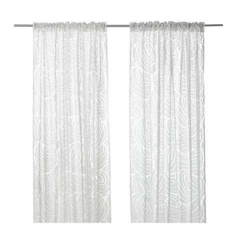 Ikea Sheer Curtains Bedroom Furniture Beds Mattresses Inspiration Ikea