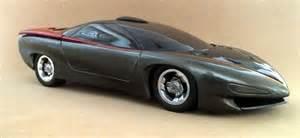 Pontiac Concept Cars Pontiac Banshee Concept Car 1988 Glass Model