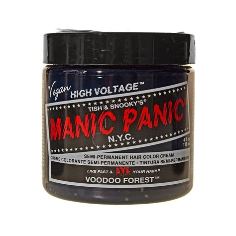 Manic Panic Lified Voodoo Blue Original manic panic coloration semi permanente couleur voodoo