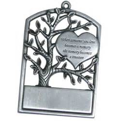 do it yourself memorial ornament pewter