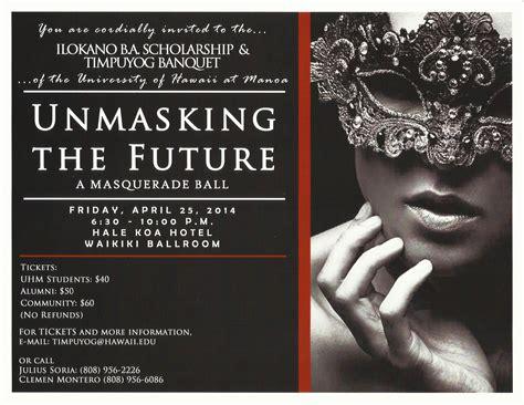 Masquerade Themes Names | banquet masquerade ball timpuyog organization