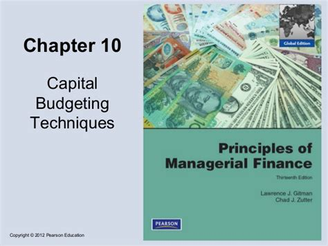 Capital Budgeting Project For Mba Finance by Capital Budgeting Techniques