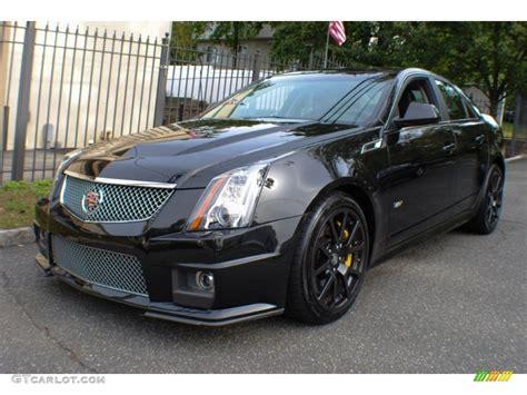 Cts V Black by Black Tricoat 2011 Cadillac Cts V Sedan Black