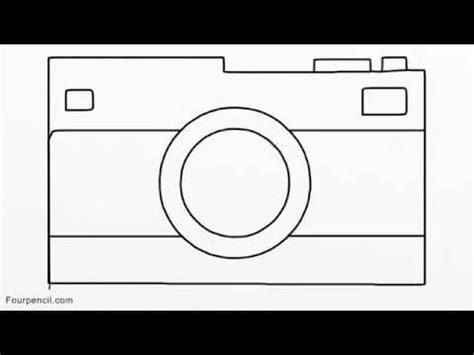 160 how to draw camera for kids step by step drawing