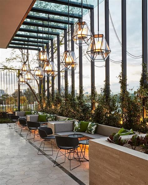 layout cafe outdoor 448 best bar and restaurant lighting images on pinterest
