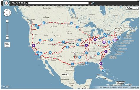 amtrak status maps transit ease with amtrak s interactive powered real time ish status map cleantechnica