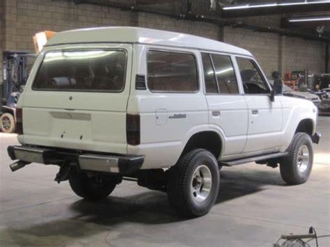 purchase used 1989 toyota landcruiser 12h t 6 cylinder