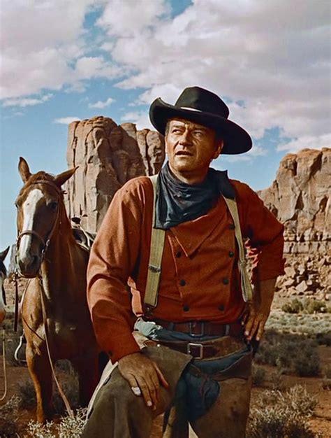 Cowboy Film Horse | john wayne en centauros del desierto 1956 john wayne