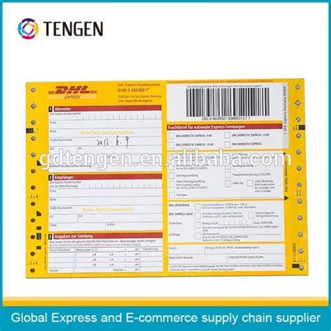 Tnt Express Aufkleber by Dhl Courier Bill Impresi 243 N Gu 237 A Buy Dhl Gu 237 A A 233 Rea Dhl