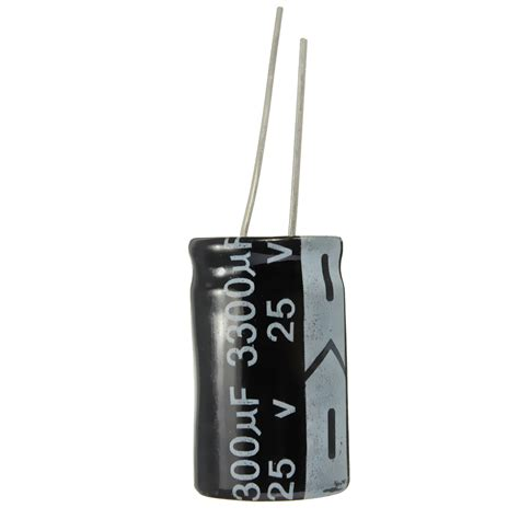 3300uf capacitor 5pcs 3300uf 25v 105c 16x25mm electrolytic capacitor alex nld