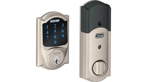 the wave of the future schlage touchscreen deadbolt and