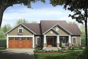 Craftsman Style Ranch House Plans by Craftsman Style House Plan 3 Beds 2 Baths Plan 21 246