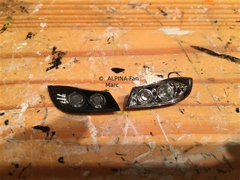 scheinwerferglas matt e91 lci mit m paket modelcarforum