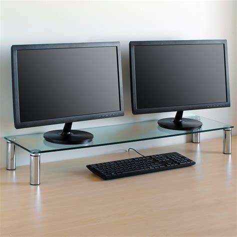 Imac Shelf by X Large Monitor Riser Stand Pc Imac Screen Tv