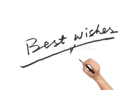 best wishes words best wishes stock image image of friendship text