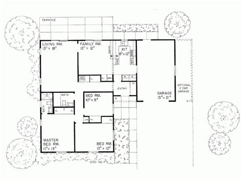 square shaped house plans l shaped ranch house floor plans l shaped range home plans