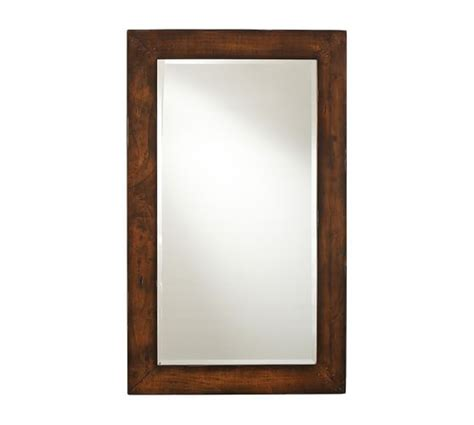 benchwright floor mirror pottery barn