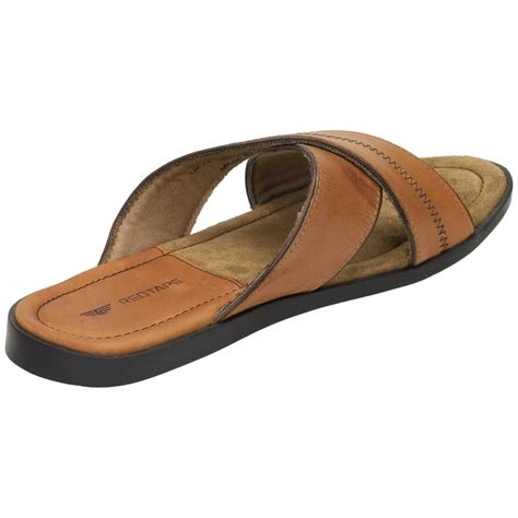 slip on sandals for mens real leather mules slip on summer sandals