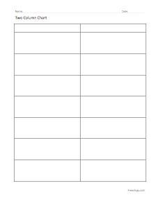 two column graph | new calendar template site