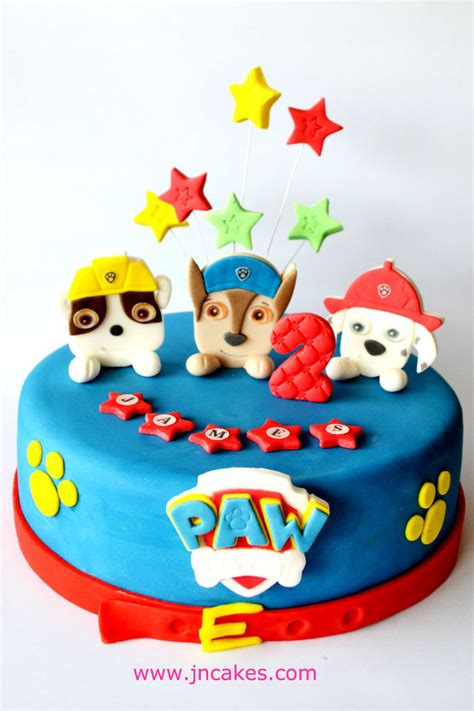 Paw Patrol Cake Decorations by Paw Patrol Cake Toppers Edible Decoration Personalised